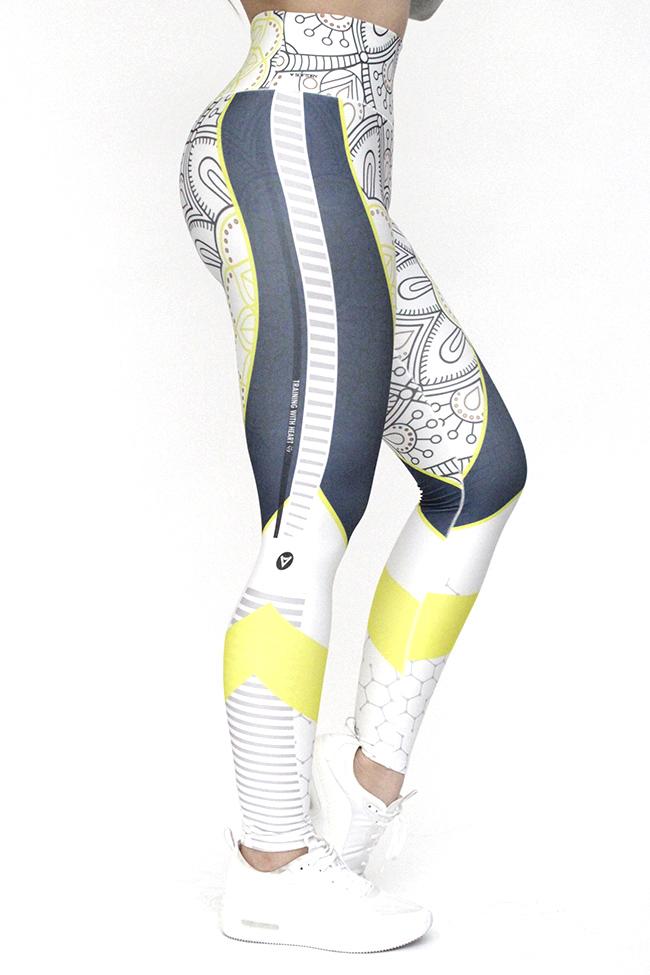 Leggin´s  deportivo diseñado para todo tipo de actividad física confeccionados con textiles colombianos, con propiedades  -COLDRY- para el control de humedad y secado rápido.