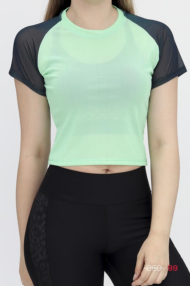 El textil de esta blusa te permite ejercitarte comodamente, asemeja al algodon pero es mucho mas comoda y fresca, ya que es mas ligera y suave.